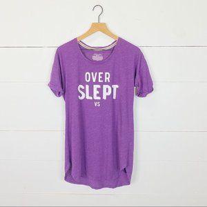 Victoria's Secret Pajama T-Shirt Dress Size XS